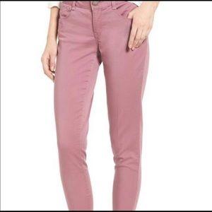 NWOT Wit & Wisdom Ab-Solution wistful mauve Jeans